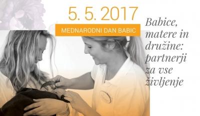Izjava za javnost Mednarodni dan babic - 5. maj