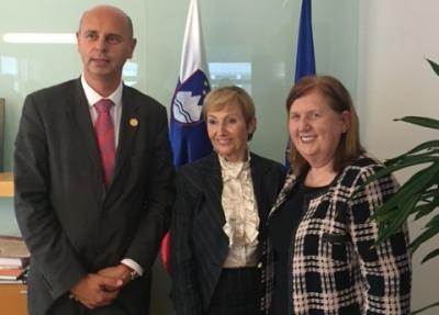 Obisk predsednice Mednarodnega sveta medicinskih sester v Sloveniji